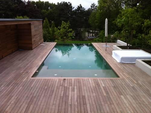 Fertiges Pool