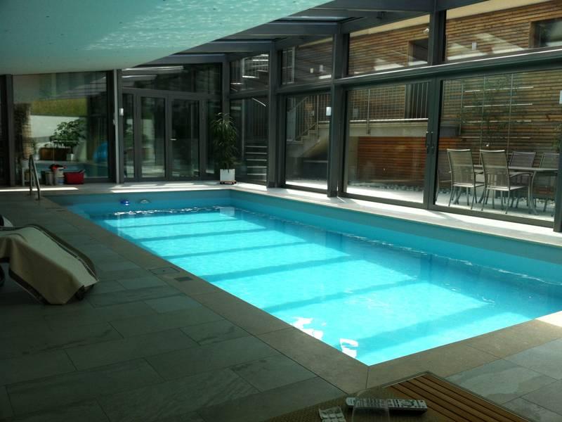 Indoorpool / Hallenbad: BINDER Pools & Wellness GmbH